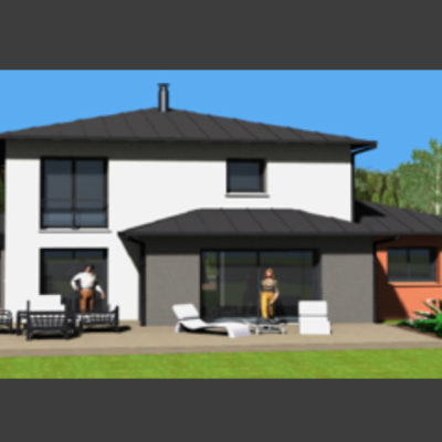 Maison c2b Maison contemporaine n°07